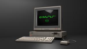 Coherer Logo Amiga A1000