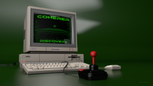 Coherer Discovery Amiga A1000